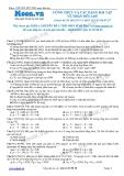 Chuyên đề LTĐH môn Sinh học: Công thức và các dạng bài tập về nhân đôi ADN