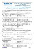 Chuyên đề LTĐH môn Sinh học: Công thức và các dạng bài tập về phiên mã