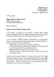 Mẫu đơn xin việc ngành Xuất nhập khẩu - Tiếng Anh