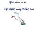 Bài giảng Địa tin học - Vật mang và quỹ đạo bay