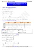 Toán học lớp 11: Ôn tập công thức lượng giác (phần 1) - Thầy Đặng Việt Hùng