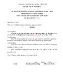 Đề thi & đáp án lý thuyết Điện tử công nghiệp năm 2012 (Mã đề LT14)