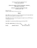 Đề thi & đáp án lý thuyết Điện tử dân dụng năm 2012 (Mã đề LT6)