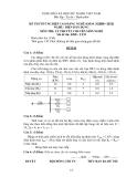 Đề thi & đáp án lý thuyết Điện dân dụng năm 2012 (Mã đề LT35)