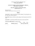 Đề thi & đáp án lý thuyết Điện tử dân dụng năm 2012 (Mã đề LT17)