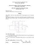 Đề thi & đáp án lý thuyết Điện tử dân dụng năm 2012 (Mã đề LT4)