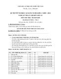 Đề thi thực hành Kỹ thuật chế biến món ăn năm 2012 (Mã đề LT14)