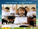 Bài thuyết trình Marketing căn bản: Dịch vụ gia sư Trung tâm Gia sư Tương lai - GVHD. Trần Niên Tuấn