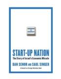Start-up Nation The Story of Israel's Economic Miracle - Dan Senor, Saul Singer