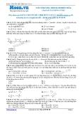 Chuyên đề LTĐH môn Vật lý: Viết phương trình dao động điều hòa