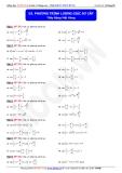 Toán học lớp 11: Phương trình lượng giác sơ cấp - Thầy Đặng Việt Hùng
