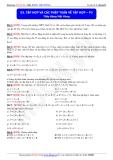 Toán học lớp 10: Tập hợp và các phép toán về tập hợp (phần 3) - Thầy Đặng Việt Hùng