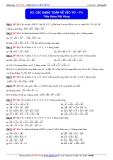 Toán học lớp 10: Các dạng toán về vectơ (phần 1) - Thầy Đặng Việt Hùng