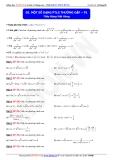 Toán học lớp 11: Một số dạng phương trình lượng giác thường gặp (phần 1) - Thầy Đặng Việt Hùng