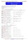 Toán học lớp 11: Một số dạng phương trình lượng giác thường gặp (phần 2) - Thầy Đặng Việt Hùng