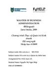Đồ án tốt nghiệp Thạc sỹ: Đánh giá và đề xuất chiến lựợc phát triển của tập đoàn Hòa Phát giai đoạn 2007 - 2012 - Viet Nam Internationnal school Ha Noi