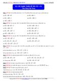 Toán học lớp 10: Các dạng toán về vectơ (phần 2) - Thầy Đặng Việt Hùng
