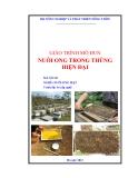 Giáo trình Nuôi ong trong thùng hiện đại - Bộ Nông nghiệp và Phát triển nông thôn