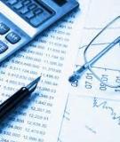 Bài tập Tài chính doanh nghiệp - Chương 4: Quyết định nguồn vốn và chi phí sử dụng vốn