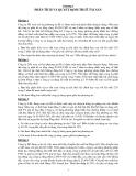Bài tập Tài chính doanh nghiệp - Chương 1: Phân tích và quyết định thuê tài sản