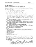 Bài tập Kế toán tài chính: Chương 2 - GV. ThS. Trương Văn Khánh