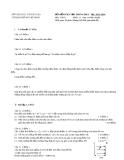 Đề kiểm tra học kỳ 1 môn Vật lý 11 năm 2013-2014 - Sở GD & ĐT Tp.HCM