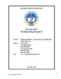Bài thuyết trình Hệ thống thông tin quản lý: Thực trạng và xu hướng phát triển của Thương mại điện tử ở Việt Nam