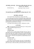 Quyết định 32/2010/QĐ-TTg