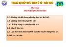 Bài giảng Trang bị thủy lực trên ôtô máy kéo: Chương II - ĐH Kỹ thuật Công nghiệp Thái Nguyên