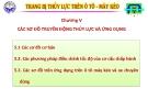 Bài giảng Trang bị thủy lực trên ôtô máy kéo: Chương IV - ĐH Kỹ thuật Công nghiệp Thái Nguyên