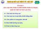 Bài giảng Trang bị thủy lực trên ôtô máy kéo: Chương III - ĐH Kỹ thuật Công nghiệp Thái Nguyên