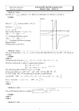 Lời giải đề thi thử Đại học 2011 môn Toán - Đề số 13