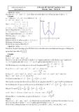 Lời giải đề thi thử Đại học 2011 môn Toán - Đề số 03