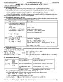 Tài liệu Ôn thi ĐH-CĐ: Lưu huỳnh và hợp chất môn Hóa năm 2010-2011