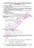 Các chuyên đề luyện thi Đại học môn Hóa: Phương pháp 6 - Phương pháp sử dụng Ion thu gọn - GV. Nguyễn Văn Nghĩa