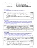 Đề thi học sinh giỏi cấp tỉnh môn Sinh học 12 năm 2012 (Buổi 2 - ngày 15/11/2012)  - Sở GD&ĐT Long An