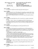 Đề thi học sinh giỏi cấp tỉnh môn Sinh học 12 năm 2012  (Buổi 1 - ngày 15/11/2012) - Sở GD&ĐT Long An