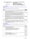 Đề thi học sinh giỏi cấp tỉnh môn Sinh học 12 năm 2013 (09/11/2013 - Đề chính thức kèm đáp án) - Sở GD & ĐT Long An