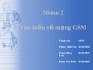 Bài tập nhóm: Tìm hiểu vè mạng GSM