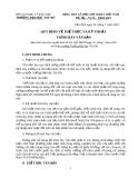 Quy định về thể thức và kỹ thuật trình bày văn bản