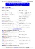 Toán học lớp 11: Một số kĩ thuật giải phương trình lượng giác (phần 1) - Thầy Đặng Việt Hùng