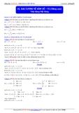 Toán học lớp 10: Đại cương về hàm số (phần 2 nâng cao) - Thầy Đặng Việt Hùng