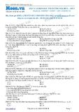 Chuyên đề LTĐH môn Hóa học: Axit cacboxylic phản ứng oxi hóa (Đề 5)