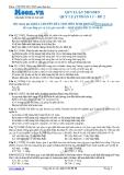 Chuyên đề LTĐH môn Sinh học: Quy luật menden-Quy luật phân li (Đề 2)