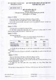 Đề thi tuyển sinh lớp 10 chuyên năm 2013-2014 môn Địa lí - Sở GD và ĐT tỉnh Đồng Tháp