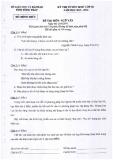 Đề thi tuyển sinh lớp 10 năm 2013-2014 môn Ngữ Văn - Sở GD và ĐT tỉnh Đồng Tháp