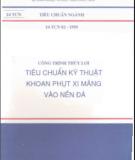 Ngành 14 TCN 82- 1995 - Tiêu chuẩn ngành: Phần 1