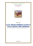 Bài giảng Xây dựng đường Ôtô F1 (Xây dựng nền đường) - ĐH GTVT