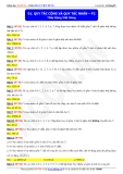 Toán học lớp 11: Quy tắc cộng và quy tắc nhân (phần 2) - Thầy Đặng Việt Hùng