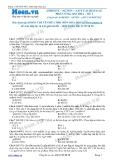 Chuyên đề LTĐH môn Hóa học: Anđehit-xeton-axit cacboxylic phản ứng oxi hóa (Đề 2)